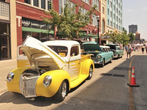 Celebrando el pasado de Estados Unidos en el Birthplace of Route 66 Festival & Car Show