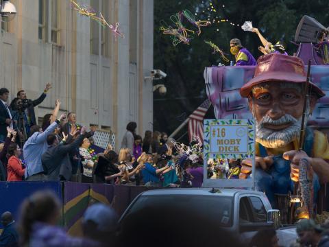 Moby Dick se impone en Mardi Gras