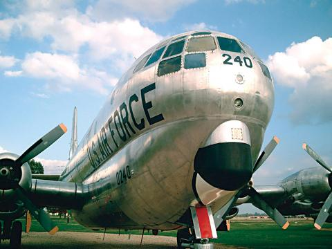 Dominando la pista en Barksdale Air Force Base Air Show