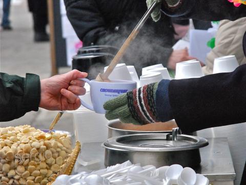 El Chowderfest de febrero hace que el público entre en calor